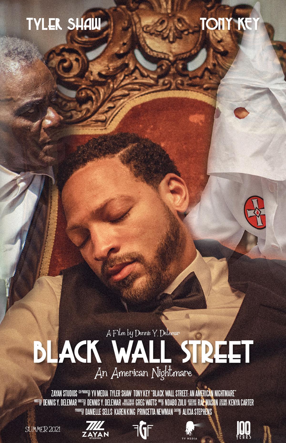 Black Wall Street An American Nightmare Poster